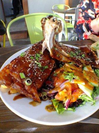 Dapto, Australia: Delicious ribs