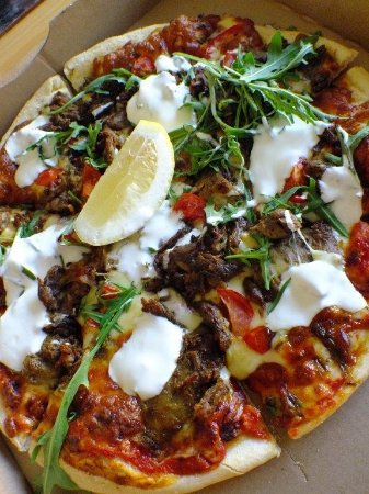Dapto, أستراليا: Lamb pizza