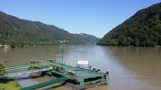 Schlogen, Austria: Paisagem pintoresca