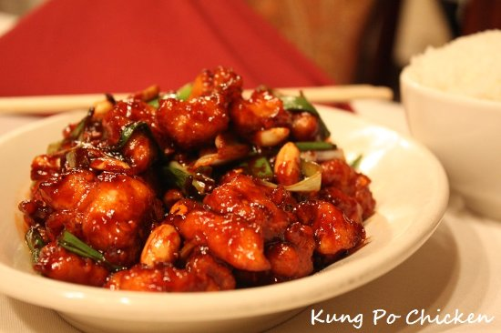 Mandarin House: our Famous signature Kung Pao Chicken