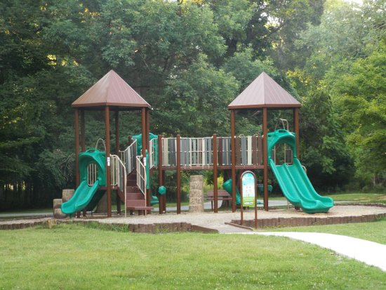 Chapel Hill, TN: playground at the campground