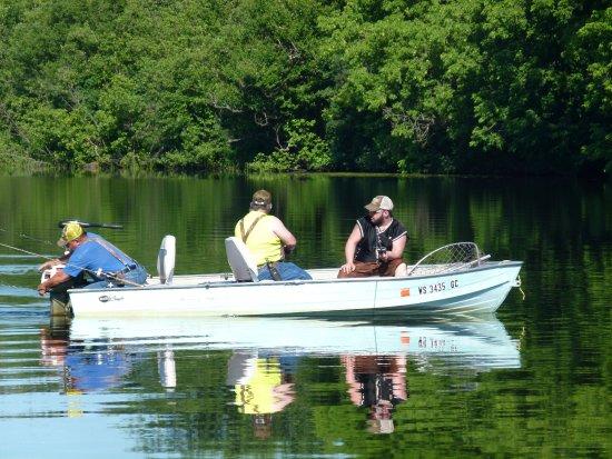 Flambeau River: Fishing is fun!