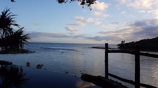 Savasi Island Villas: Another fantastic evening view