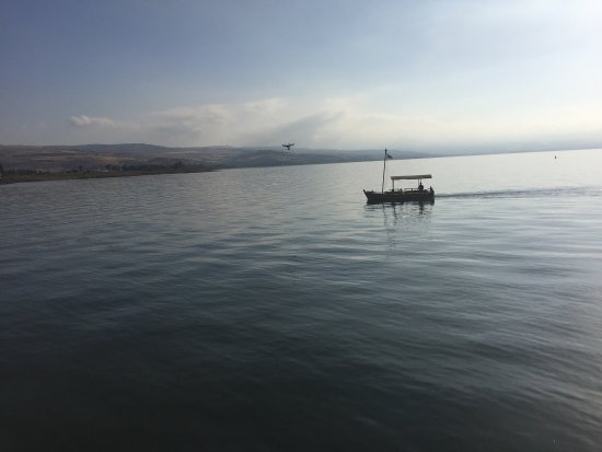 Ginosar, Israel: Great location on the shore of the Sea of Galilee aka the Kinneret