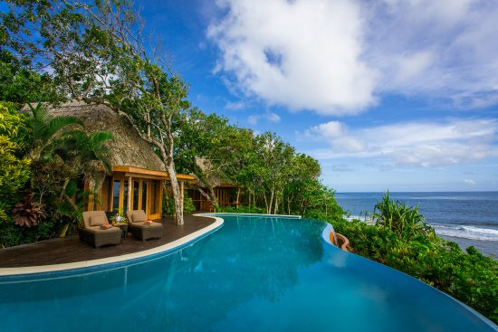 Namale the Fiji Islands Resort & Spa: Ocean view Villa with private infinity pool