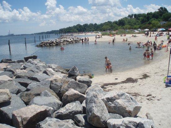 Yorktown Beach Picture Of Riverwalk