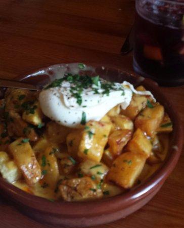 Egg Harbor, WI: Patatas Bravas - my favorite!