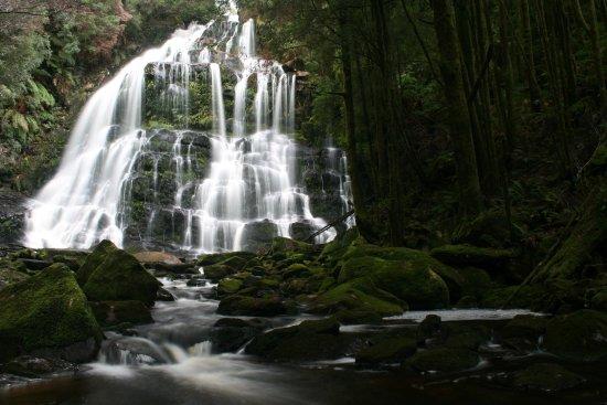 Queenstown, Australia: Nelson Falls with average flow