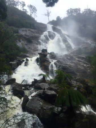 St Columba Waterfall: St Columba Falls after rain