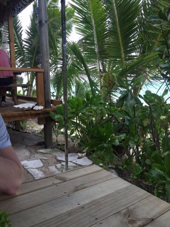 Titikaveka, Islas Cook: Sheltered spot