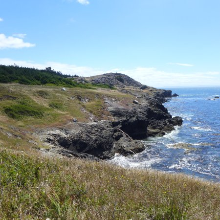MacKaye Harbor Inn: view of Iceberg Point