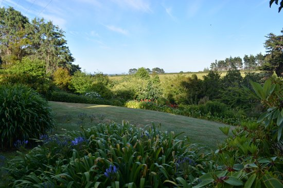 Waitotara, New Zealand: Garden walk