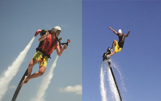 Jetpack Flyboard Adventures