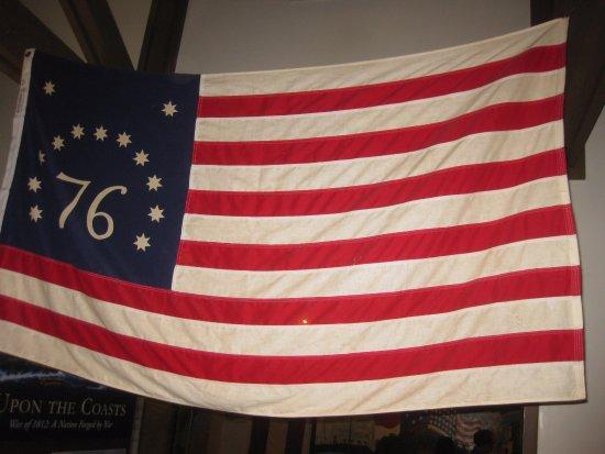 Midway, Джорджия: 1776 Flag