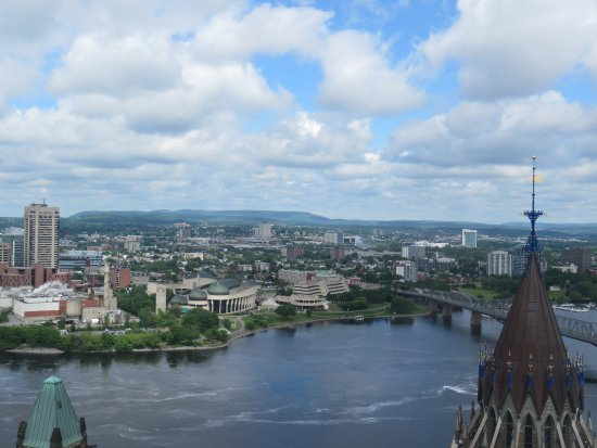 Ottawa, Canadá: View from top of the Peace Tower