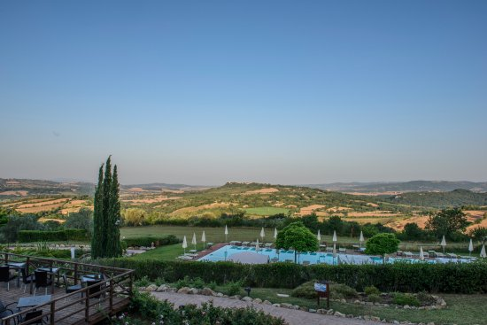 "Saturnia Tuscany Hotel: The hotel's ""backyard"""
