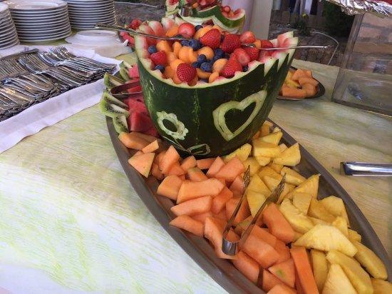 Aielli, Italien: frutta mista