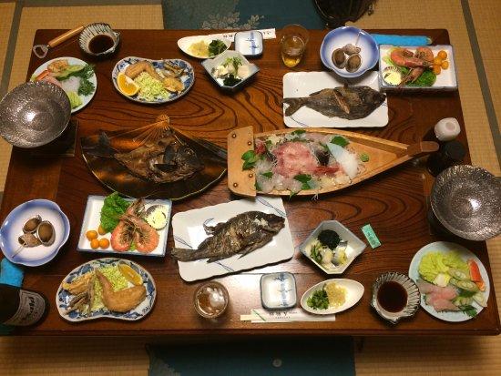 Gorinkan : 夕ご飯。家庭的な味付けで美味しかったです。