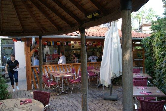 Marssac-sur-Tarn, Francia: la terrasse