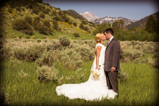 Victor, ID: Nice site for a ceremony