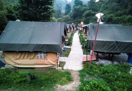 Shoghi, Ινδία: Moderate Camping (Jungle Inn)
