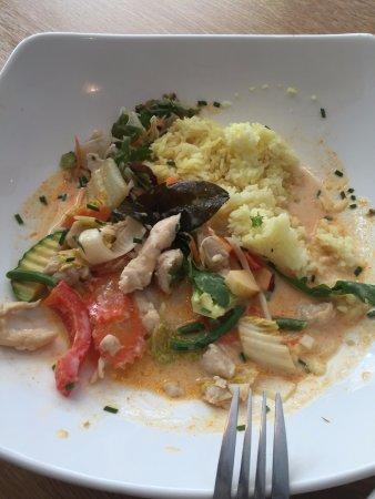 Chicken with vegs