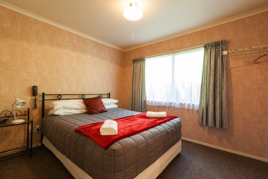 Motel Te Kuiti One Bedroom Unit Bedroom