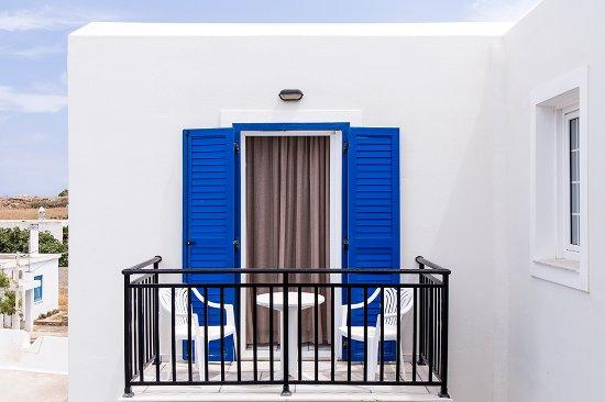 Agios Prokopios, Yunani: Hotel Balconies