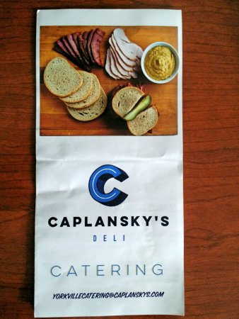 Photo of Restaurant Caplansky's Deli Yorkville at 156 Cumberland Ave, Toronto M5R 1A8, Canada