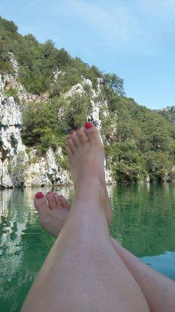 Quinson, France : Un super séjour dans les gorges du Verdon et surtout dàns le camping TOHAPI  👌
