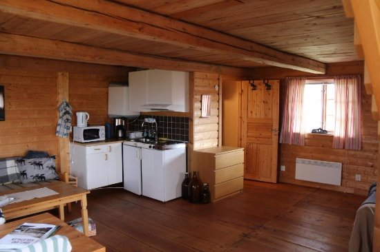 Orrviken, Szwecja: Cabin ground floor