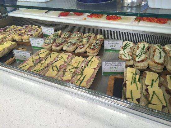 Тоддингтон, UK: Our Panini's