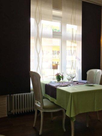 Kopstal, Luxembourg : Le salle à manger