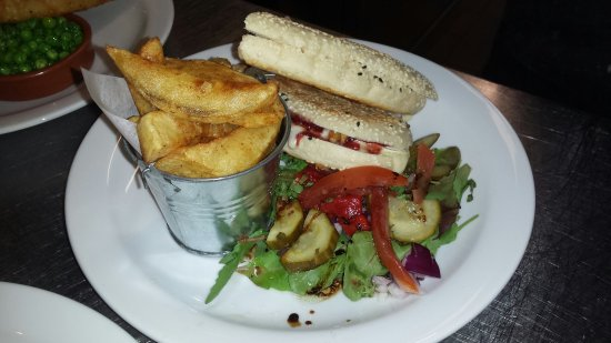 Cheadle, UK: Few of our lunch from today.