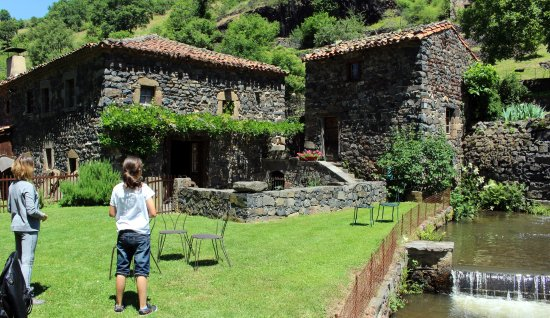 Saint-Arcons-d Allier, Frankrike: Le cadre