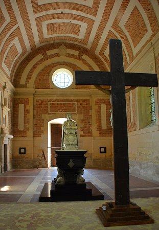 Anet, France: Ici repose Diane de Poitiers ....