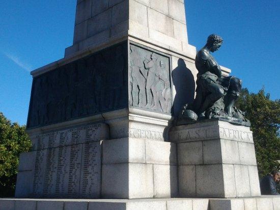 The Cenotaph: St George with the slain dragon's head