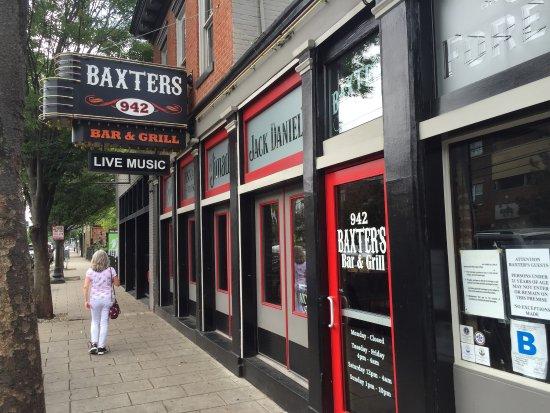 Baxter S 942 Bar Amp Grill Louisville Menu Prices
