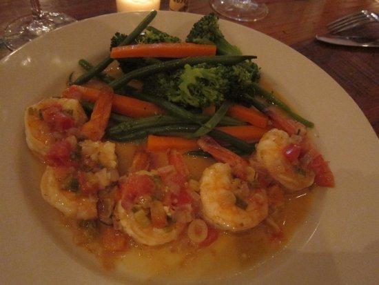 New Canaan, CT: Shrimp Mojo at Farmer's Table