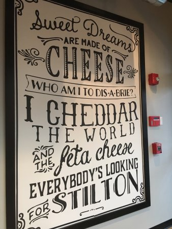 เวสต์ฟีลด์, นิวเจอร์ซีย์: If you love cheese
