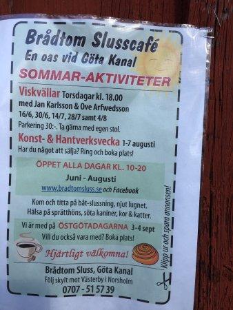 Norsholm, สวีเดน: Brådtom Sluss