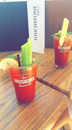 Touchstone on Lake Muskoka: Best Caesars of the summer yet!
