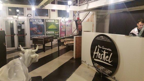 New Generation Hostel Urban Brera: lobby