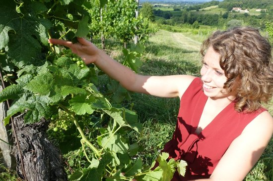 Saussignac, Francja: Cecile Rousseau of Chateau Feely