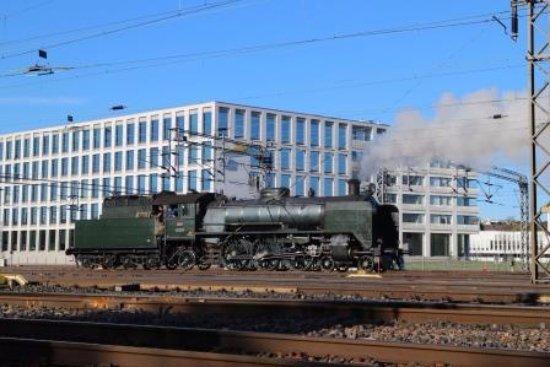 Kaisaniemen Puisto: 機関車が走っているのがみえました。