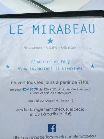 Cafe Le Mirabeau : photo3.jpg