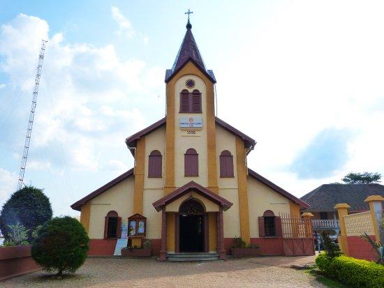 Yaounde, Cameroun : Church St. Esprit de Mvolyé (next to the Basilica)
