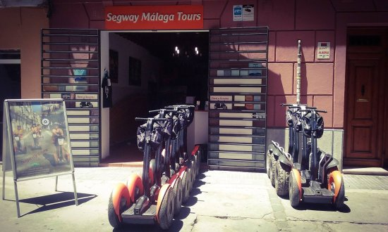 Segway Malaga Tours: Every day we clean our segways and we make sure that are ready for next day! :D
