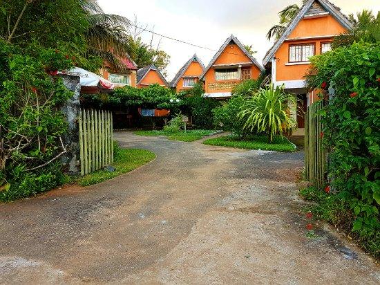 Manakara, Madagascar: Les délices hôtel-restaurant