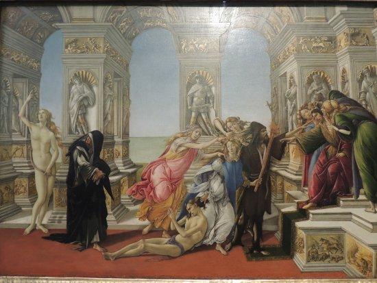 Tableau la calomnie par botticelli photo de galerie des offices florence tripadvisor - Galerie des offices a florence ...